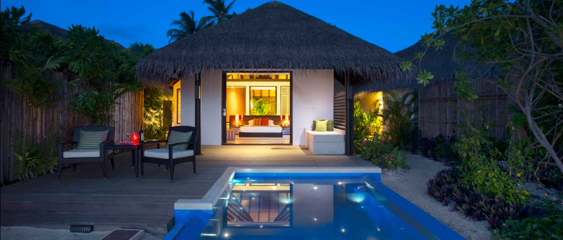 Velassaru - Beach Villa with Pool