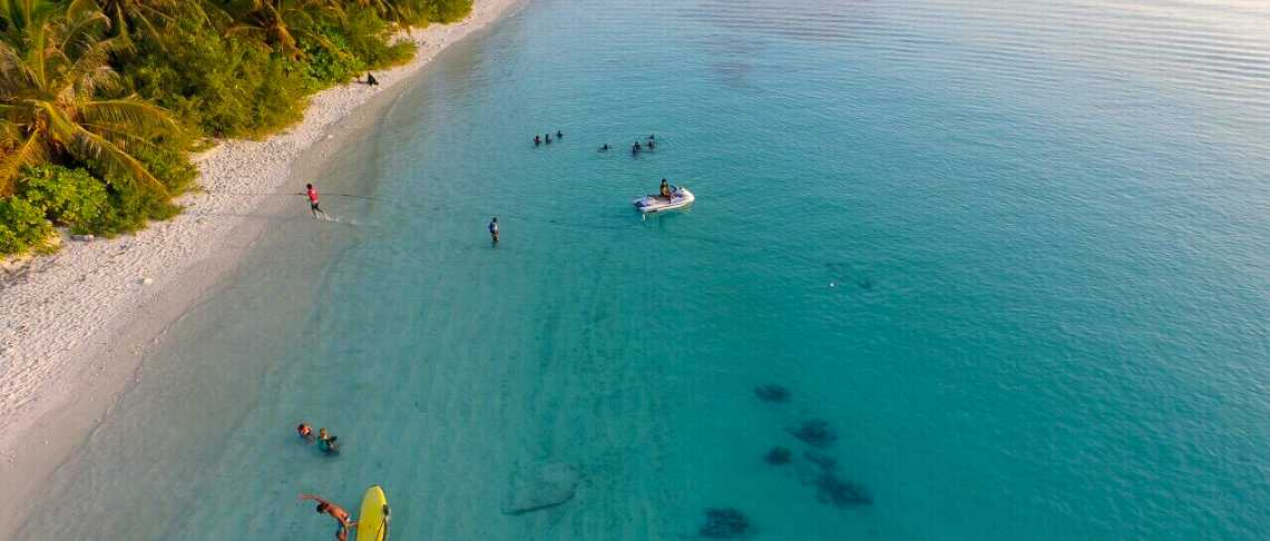 Bliss Dhigurah  - Watersports